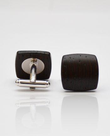 Drevené manžetové gombíky balance - wenge