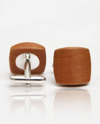Drevené manžetové gombíky balance - hruška