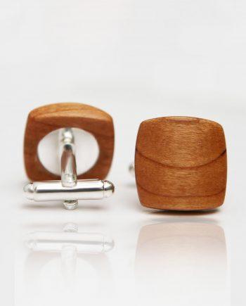 Drevené manžetové gombíky balance - čerešňa
