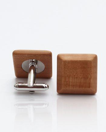 Drevené manžetové gombíky elegance - hruška