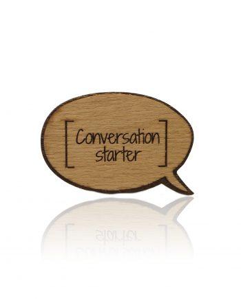 Odznak - Conversation starter