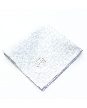 Látková vreckovka do saka - brokátová diamond