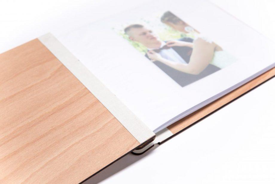 Drevený fotoalbum - Simple
